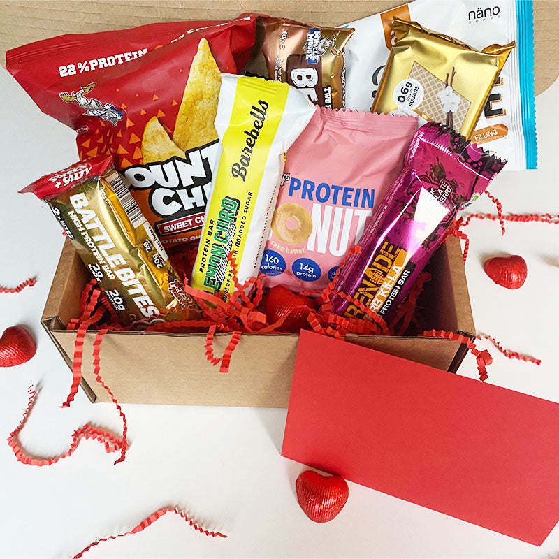 Box of Protein Valentine's Day Gift Box - Large