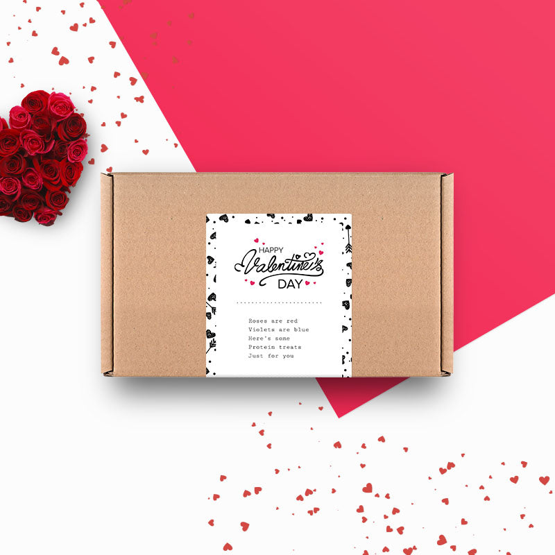 Box of Protein Valentine's Day Gift Box - Medium