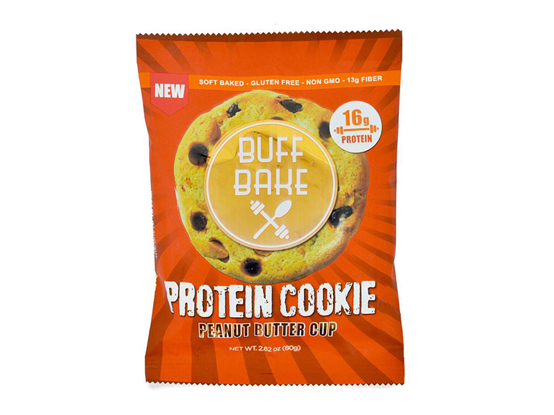 Buff Bake Protein Cookie - Peanut Butter Cup - Box of Protein
