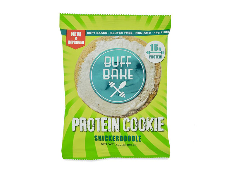 Buff Bake Protein Cookie - Snickerdoodle - Box of Protein