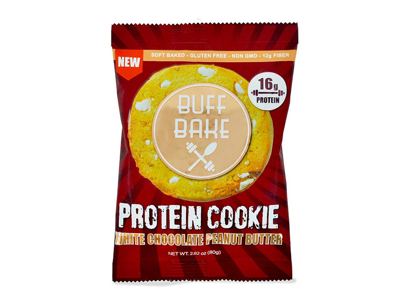 Buff Bake Protein Cookie - White Chocolate Peanut Butter - Box of Protein
