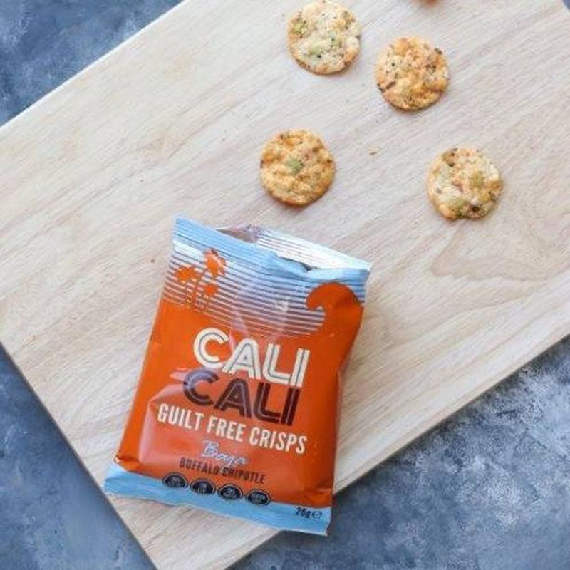 Cali Cali Guilt Free Protein Crisps - Buffalo Chipotle | Box of Protein