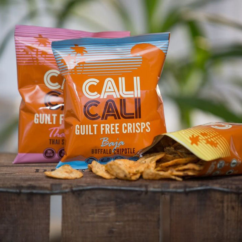 Cali Cali Guilt Free Protein Crisps - Thai Sweet Chilli | Box of Protein