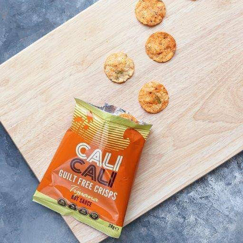 Cali Cali Guilt Free Protein Crisps - Tijuana Hot Sauce | Box of Protein