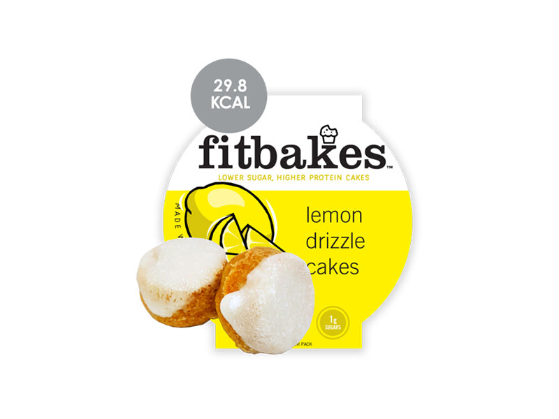Fitbakes - Lemon Drizzle Cakes - Box of Protein