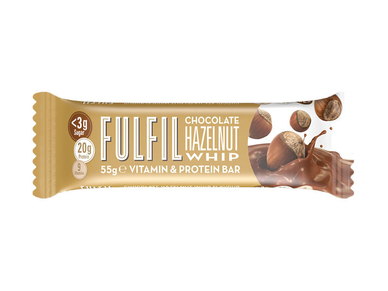 Fulfil Vitamin & Protein Bar - Chocolate Hazelnut Whip - Box of Protein