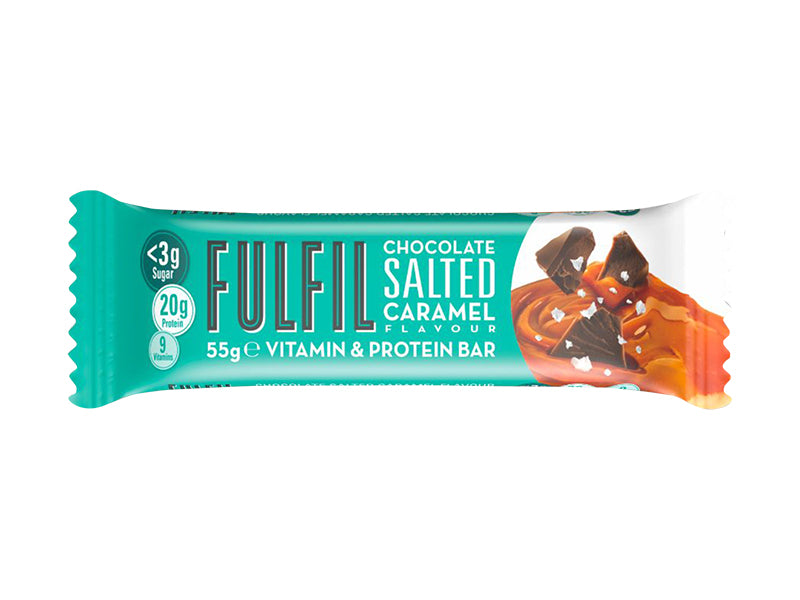 Fulfil Vitamin & Protein Bar - Chocolate Salted Caramel | Box of Protein