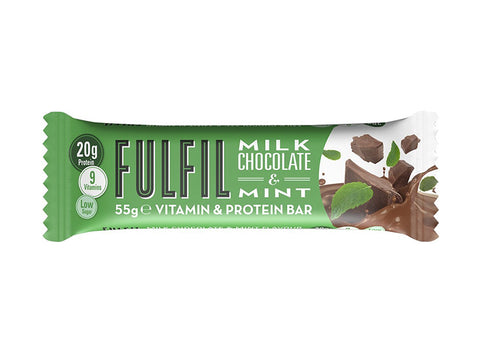 Fulfil Vitamin & Protein Bar - Milk Chocolate & Mint