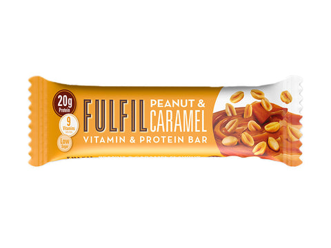 Fulfil Vitamin & Protein Bar - Peanut Caramel (55g) - Box of Protein