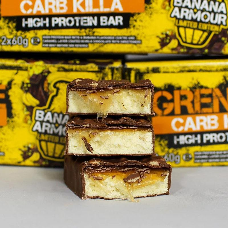 Grenade Carb Killa - Banana Armour - Box of Protein