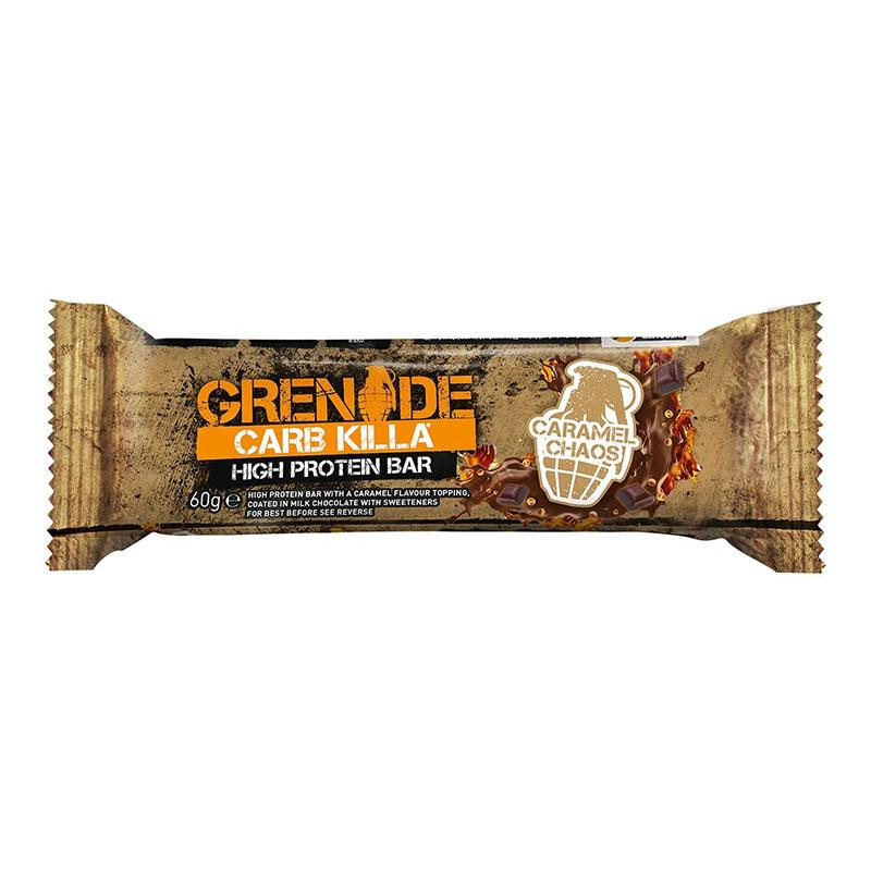 Grenade Carb Killa - Caramel Chaos - Box of Protein
