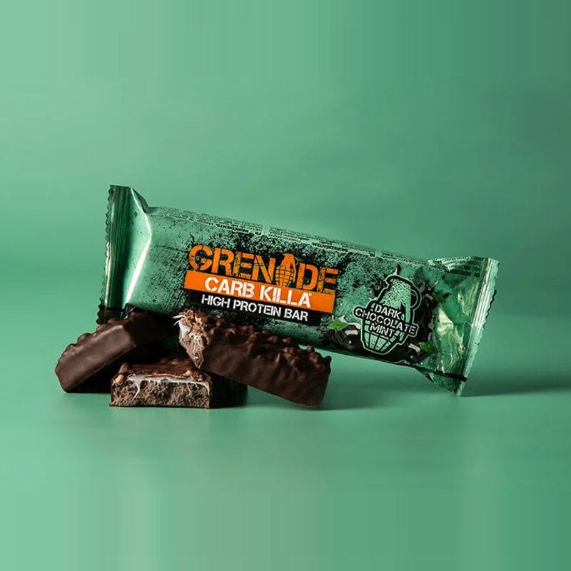 Grenade Carb Killa - Dark Chocolate Mint - Box of Protein