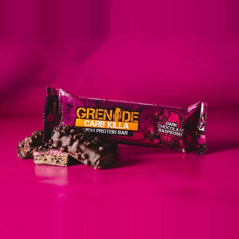 Grenade Carb Killa - Dark Chocolate Raspberry - Box of Protein