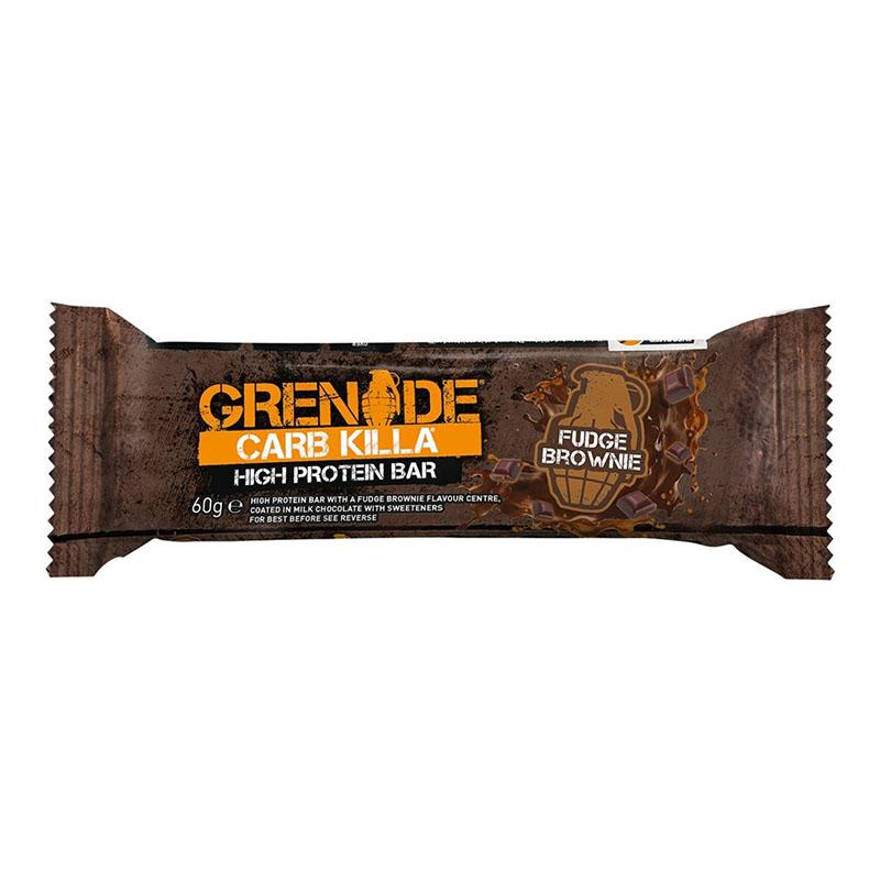 Grenade Carb Killa - Fudge Brownie - Box of Protein