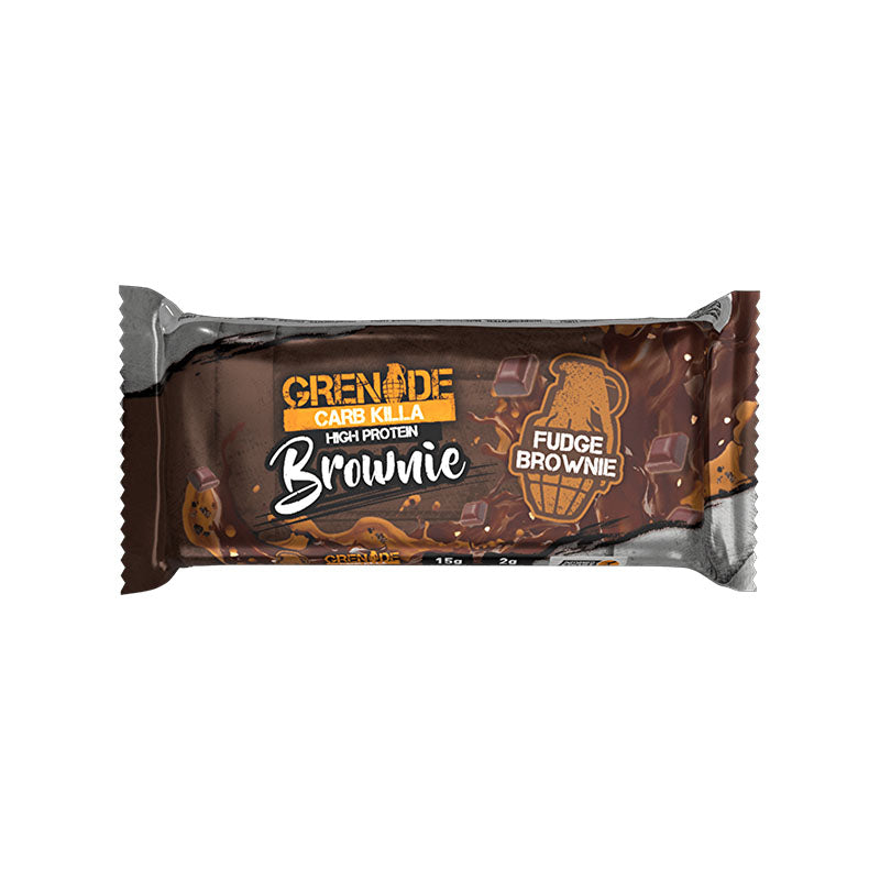 Grenade Carb Killa Brownie - Fudge Brownie - Box of Protein