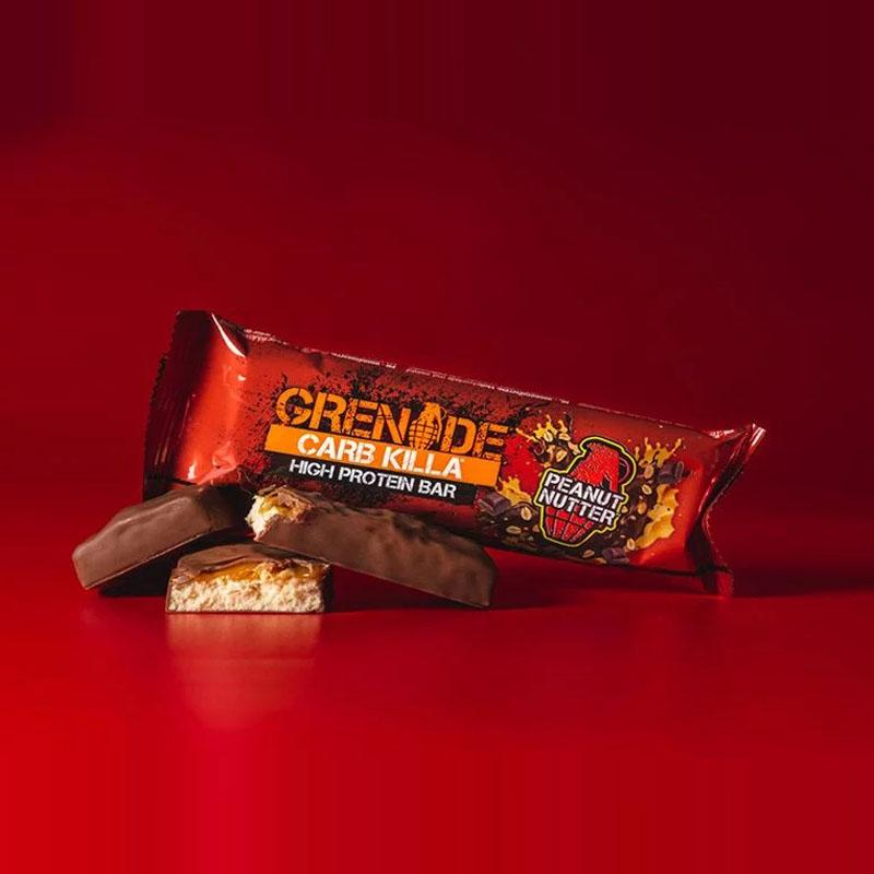 Grenade Carb Killa - Peanut Nutter - Box of Protein
