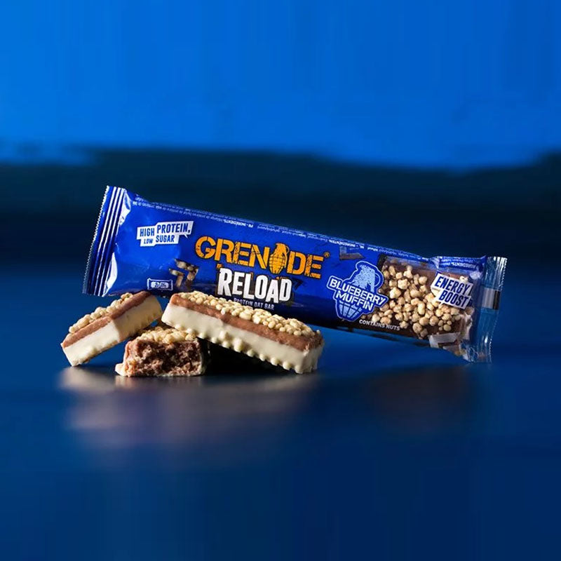 Grenade Reload Protein Oat Bar - Blueberry Muffin - Box of Protein