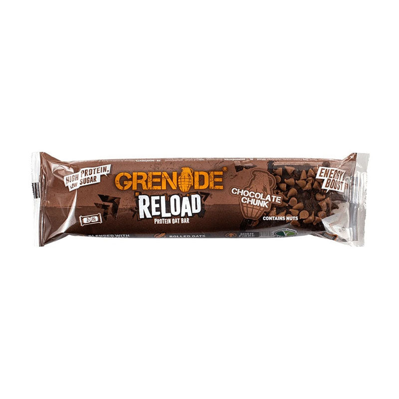 Grenade Reload Protein Oat Bar - Chocolate Chunk - Box of Protein