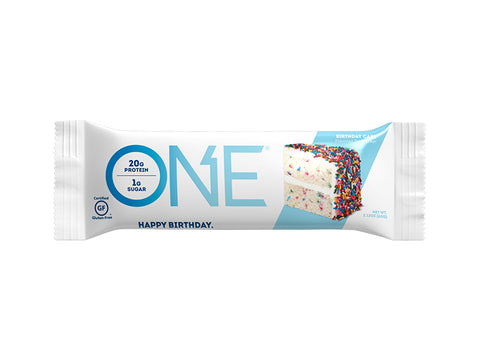 Oh Yeah! ONE Bar - Birthday Cake - Box of Protein