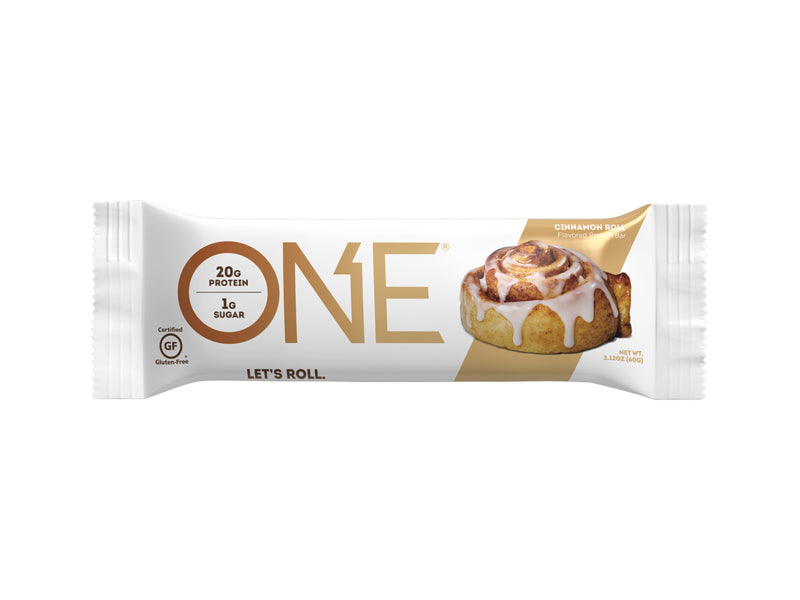 Oh Yeah! ONE Bar - Cinnamon Roll - Box of Protein