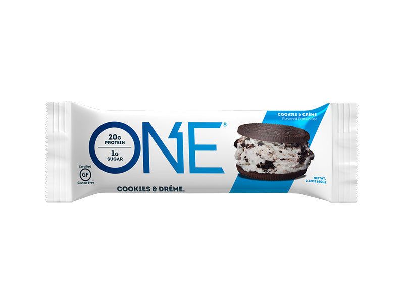 Oh Yeah! ONE Bar - Cookies & Cream - Box of Protein
