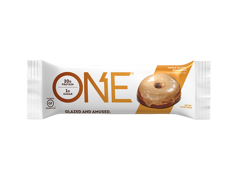 Oh Yeah! ONE Bar - Maple Glazed Doughnut -Box of Protein