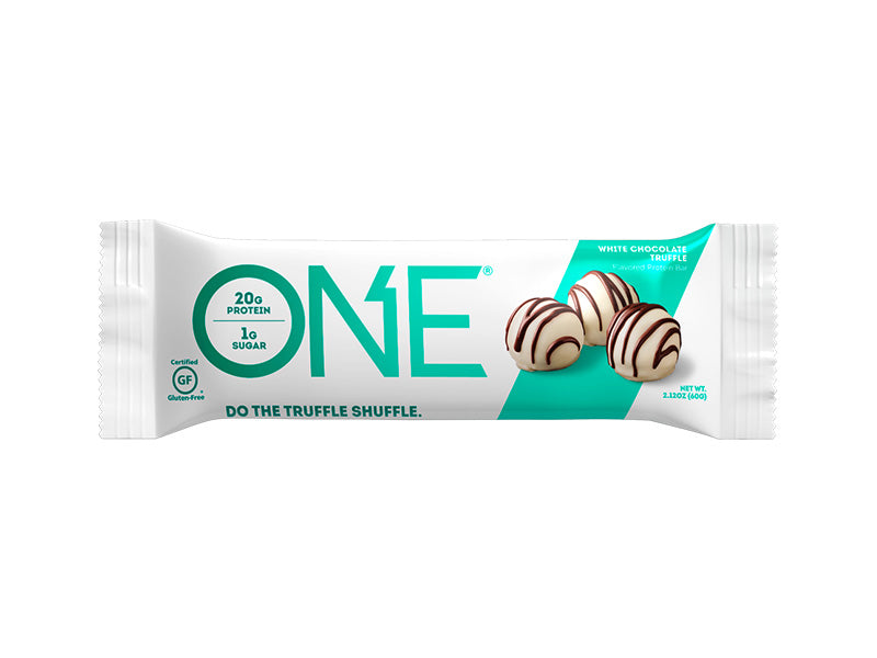 Oh Yeah! ONE Bar - White Chocolate Truffle - Box of Protein