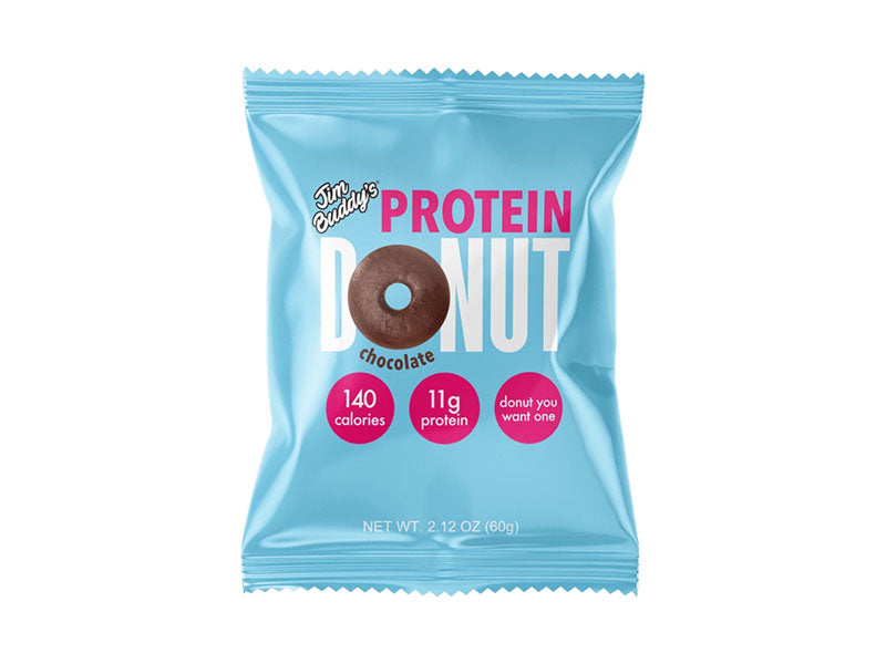 Jim Buddy's Protein Donut - Chocolate - Box of Protein