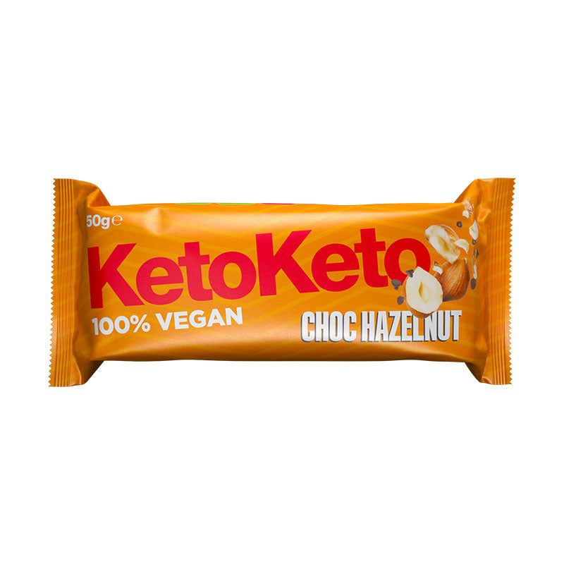 KetoKeto Vegan Protein Biscuit Bar - Choc Hazelnut | Box of Protein
