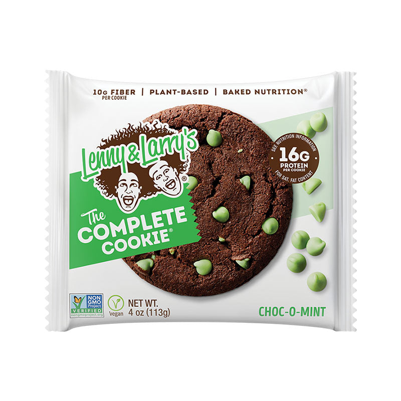 Lenny & Larry's The Complete Cookie - Choc O Mint - Box of Protein
