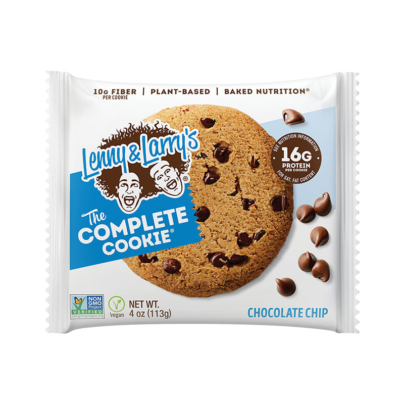 Lenny & Larry's The Complete Cookie - Chocolate Chip - Box of Protein