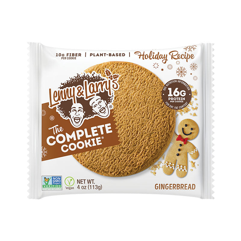 Lenny & Larry's The Complete Cookie - Gingerbread | Box of Protein | Box of Protein