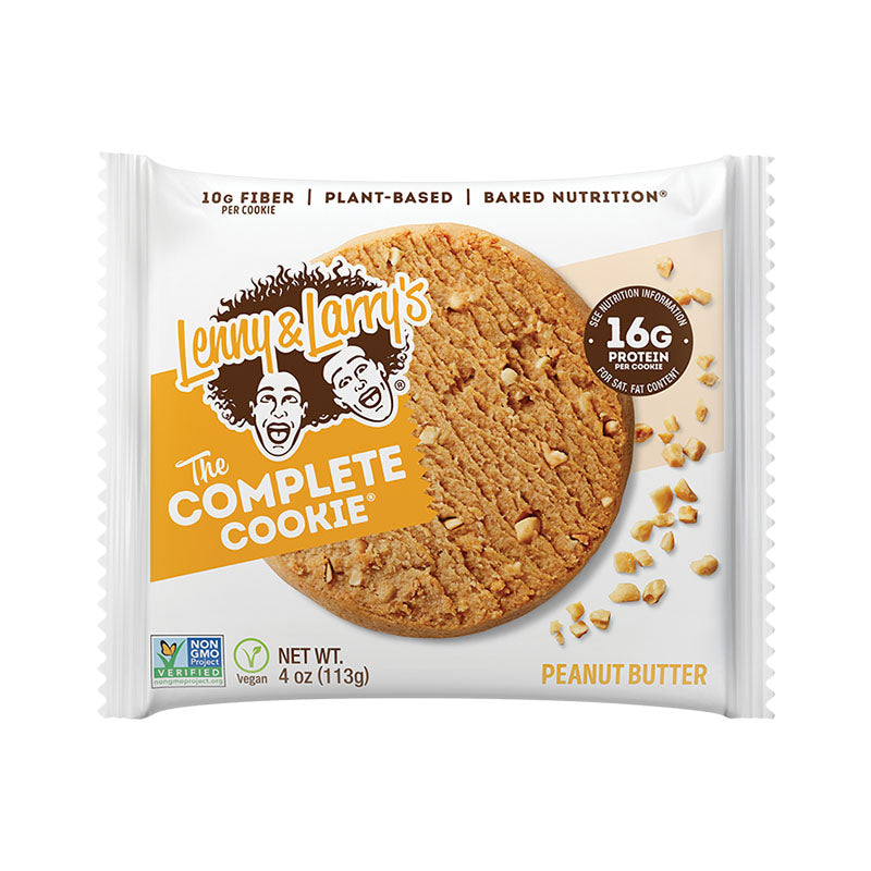 Lenny & Larry's The Complete Cookie - Peanut Butter - Box of Protein