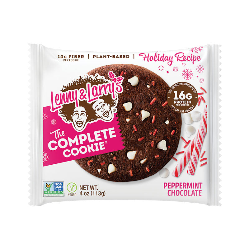 Lenny & Larry's The Complete Cookie - Peppermint Chocolate | Box of Protein