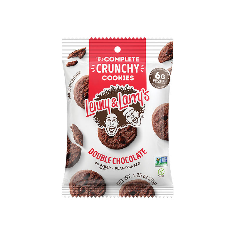 Lenny & Larry's The Complete Crunchy Cookies - Double Chocolate - Box of Protein