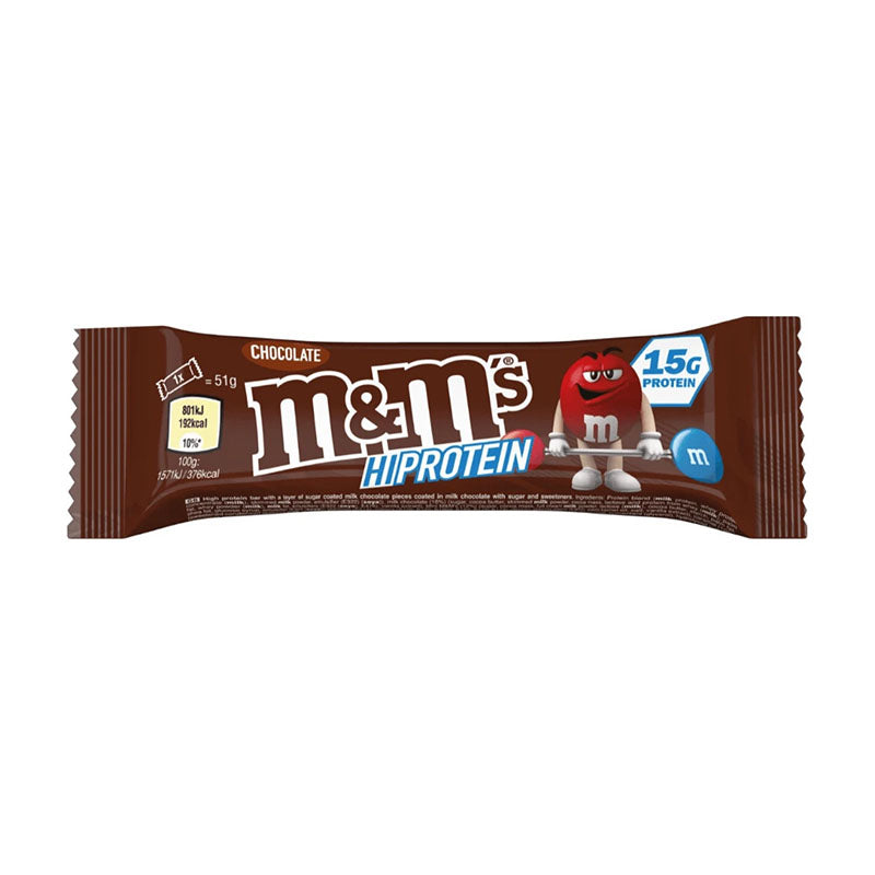 Mars M&M's Hi Protein Bar - Chocolate - Box of Protein