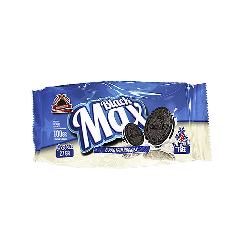 Max Protein Black Max Protein Cookies - Cookies & Cream - Box of Protein