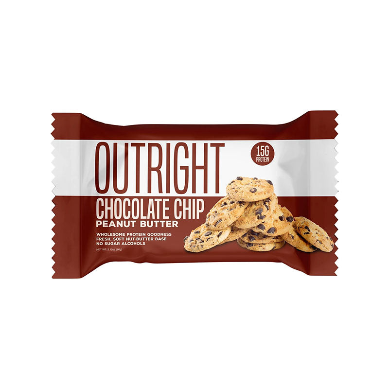 MTS Nutrition Outright Bar - Chocolate Chip Peanut Butter - Box of Protein