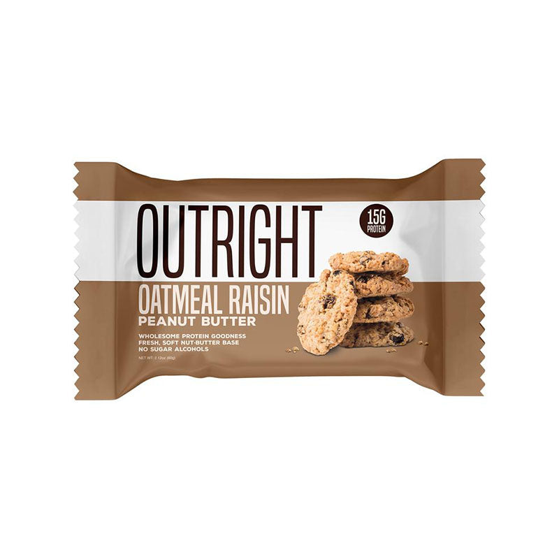 MTS Nutrition Outright Bar - Oatmeal Raisin Peanut Butter - Box of Protein