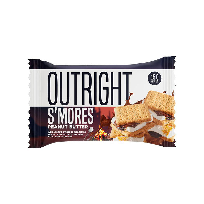 MTS Nutrition Outright Bar - S'mores Peanut Butter - Box of Protein