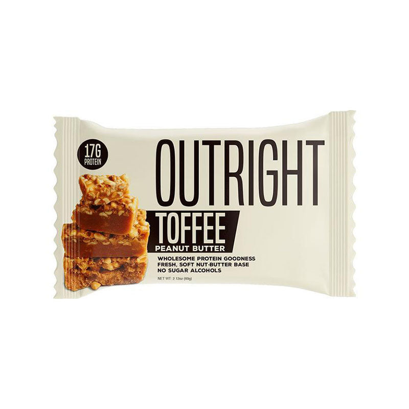 MTS Nutrition Outright Bar - Toffee Peanut Butter - Box of Protein