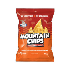 Muscle Moose Mountain Chips - Sweet Chilli - Box of Protein