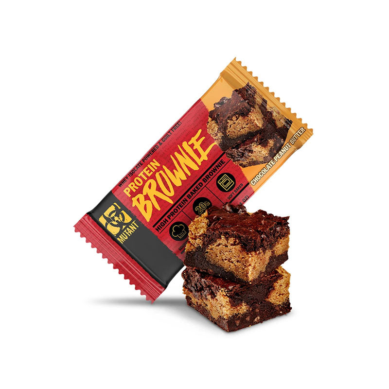 Mutant Protein Brownie - Chocolate Peanut Butter - Box of Protein