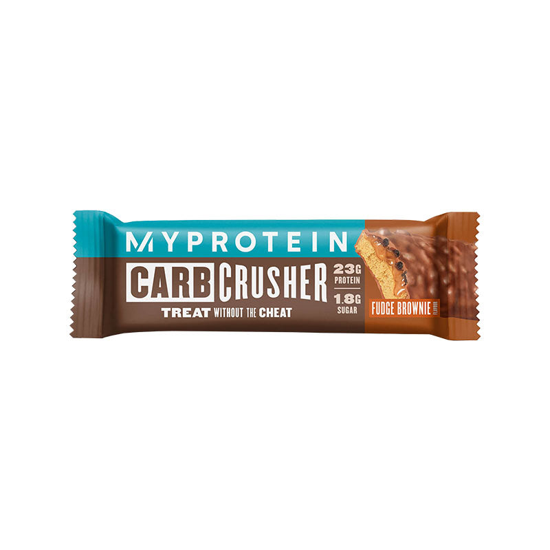 Myprotein Carb Crusher Protein Bar - Fudge Brownie - Box of Protein