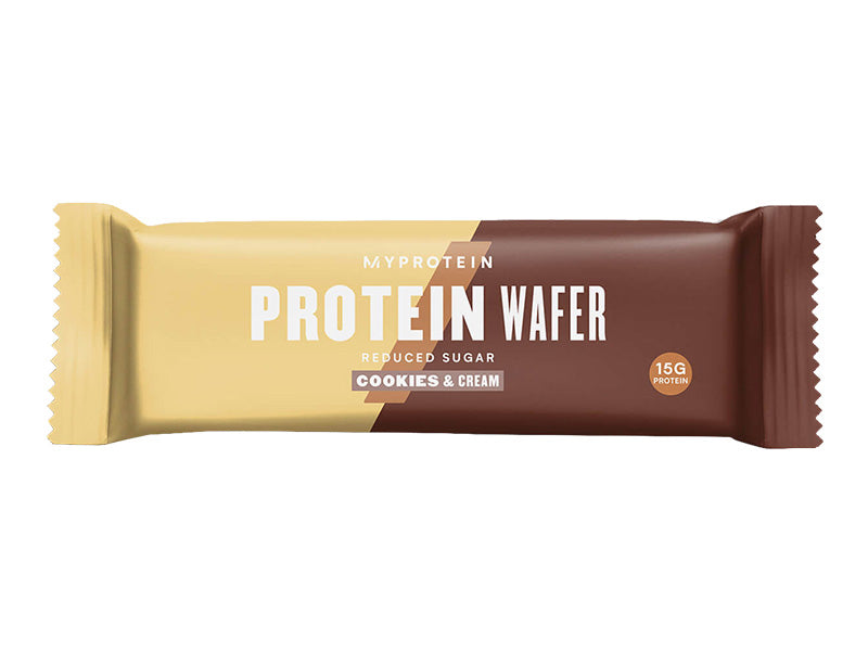 Myprotein Protein Wafer - Cookies & Cream - Box of Protein