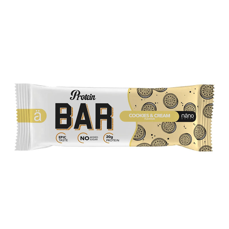 Nano ä Protein Bar - Cookies and Cream - Box of Protein