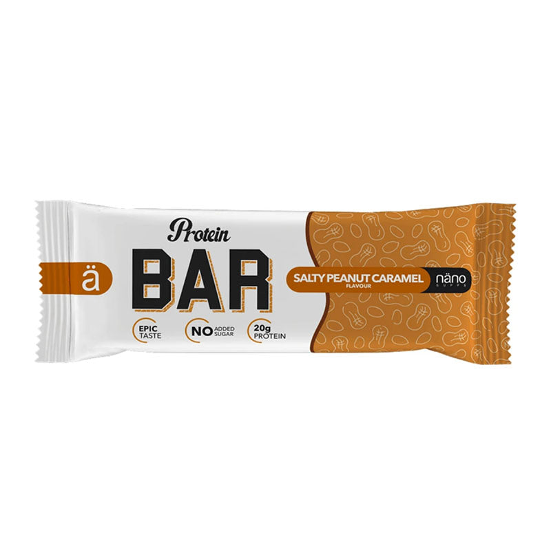 Nano ä Protein Bar - Salty Peanut Caramel - Box of Protein