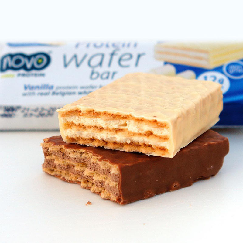 Novo Nutrition Protein Wafer - Vanilla - Box of Protein