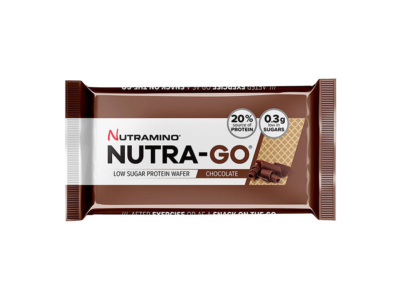 Nutramino Nutra-Go Protein Wafer - Chocolate - Box of Protein