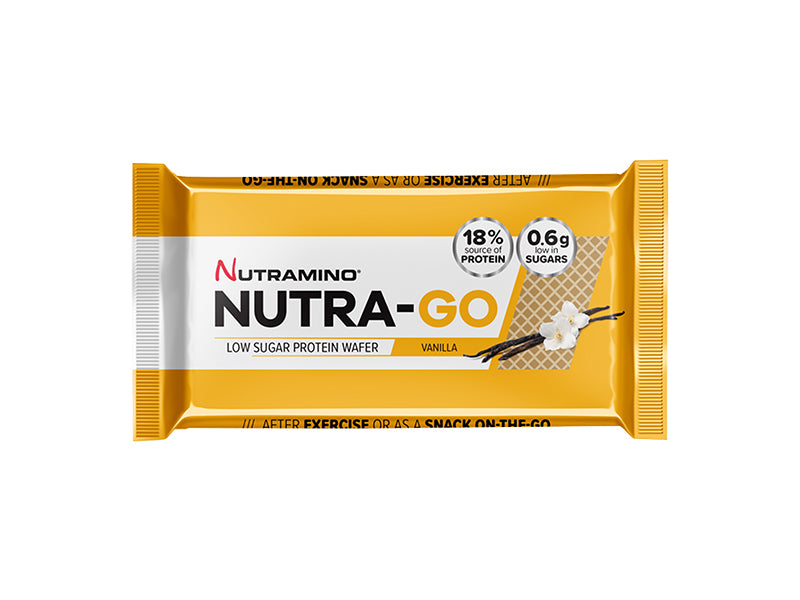 Nutramino Nutra-Go Protein Wafer - Vanilla - Box of Protein